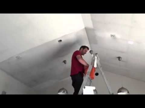 How to clean smoke damage off ceilings and walls