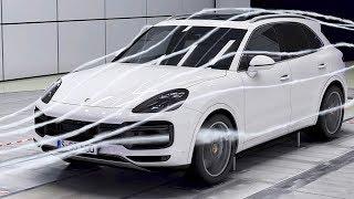 Porsche Cayenne (2018) Aerodynamics