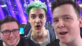 Muselk Vs. Ninja & Josh Og In Germany!