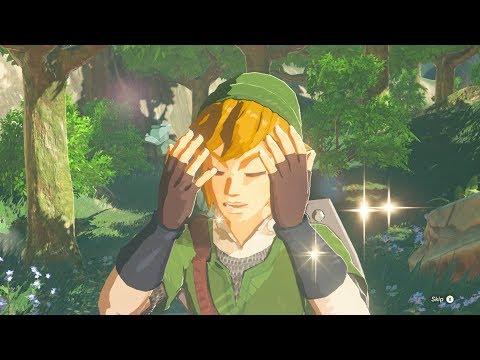 Zelda: BOTW (Link Fully Upgrades His Skyward Sword Outfit)