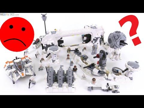 Folks HATE LEGO's Star Wars UCS Hoth set - Why?