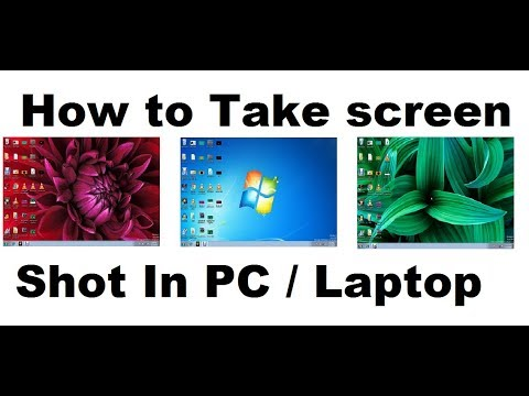 How To Take a Screen Shot Of Your Windows PC or Laptop Screen  Tutorial Step by Step