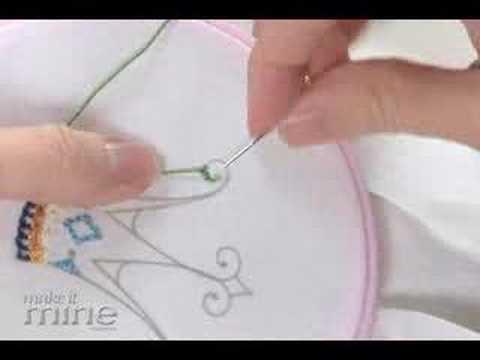 Make It Mine Magazine - Embroidery Stem Stitch