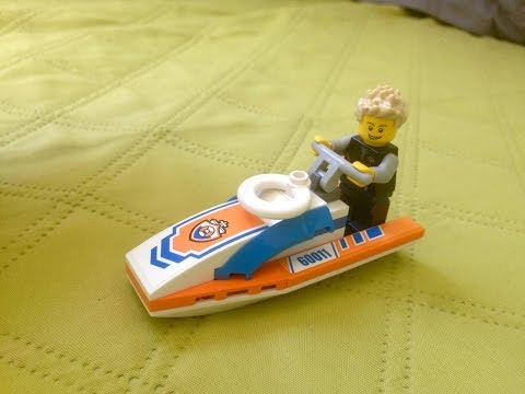 Como Montar um Jet Ski de Lego