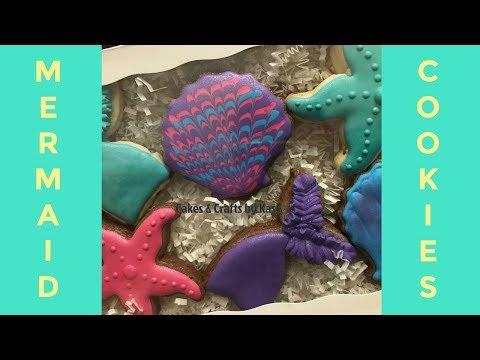 Mermaid Cookies | Watch Me Decorate