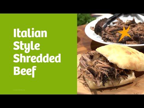DaVita Eats: Italian Style Shredded Beef