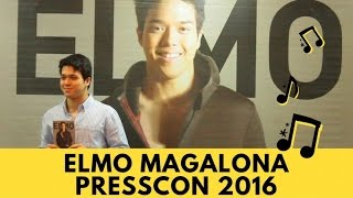 Elmo Magalona - Presscon 2016