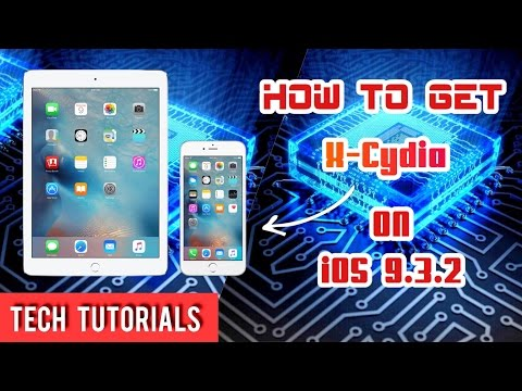How to get x-cydia on iOS 9.3.2