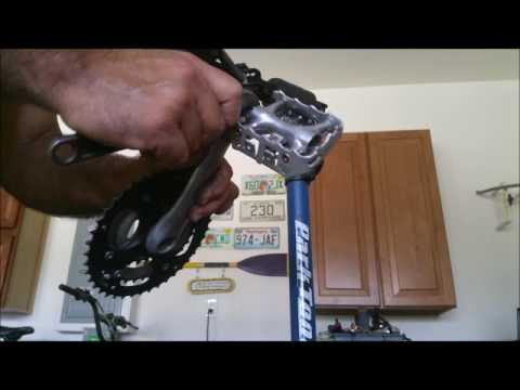 How to remove a seized pedal
