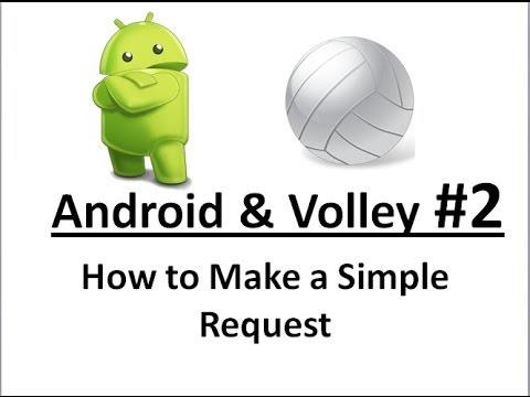 Android Volley -02- Create a Simple Request.