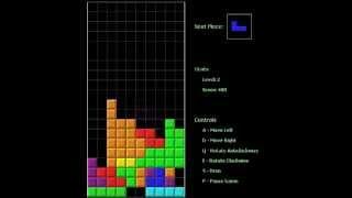Java - Tetris Game (Source Code)