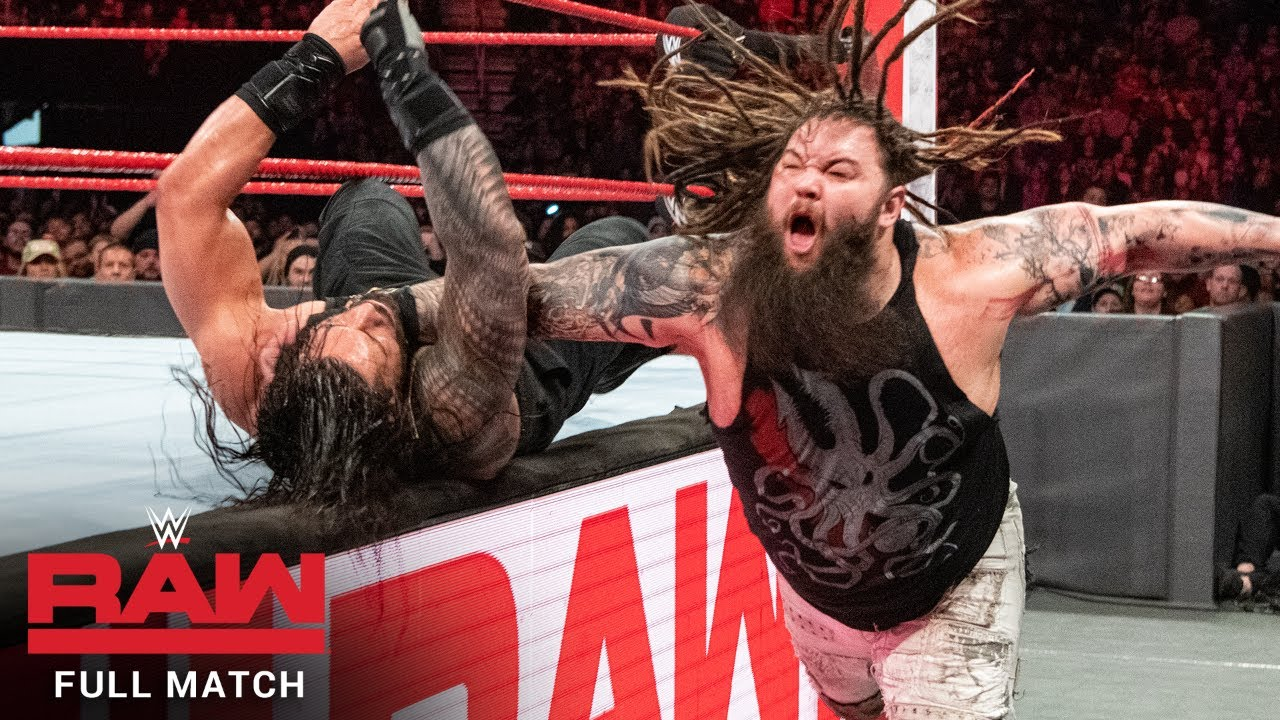 FULL MATCH - Roman Reigns vs. Bray Wyatt: Raw, Feb. 5, 2018