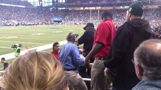 Unruly Fans Kicked Out of Ford Field