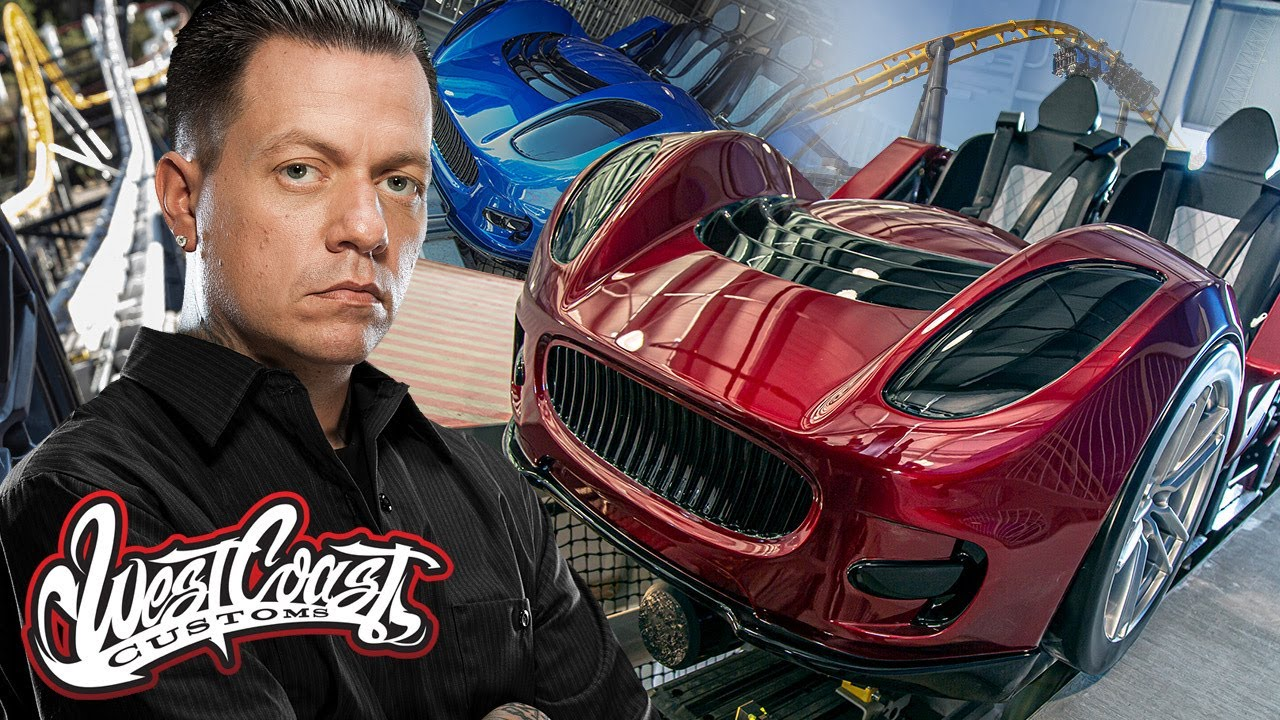 We have our own Roller Coaster! West Coast Customs most epic ride ever | West Coast Racers