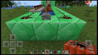 Minecraft how to make a TNT cannon