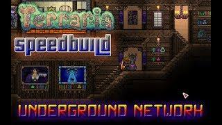 Terraria Speedbuild   1.3.5   Underground Network