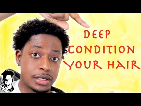 How To Deep Condition Your Hair For Men   WINSTONEE