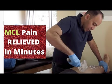 Strained MCL Pain Relieved in Minutes!