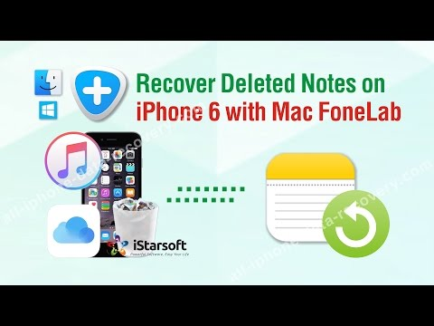 How to Recover Deleted Notes on iPhone 6 with Mac FoneLab