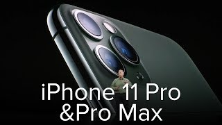 iPhone 11 Pro & Pro Max announcement: Key details in 5 minutes
