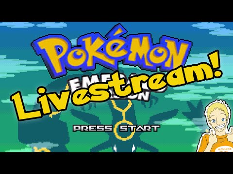Let's Play Pokemon Emerald [LIVE STREAM!] -- The End! -- 100 Likes?!