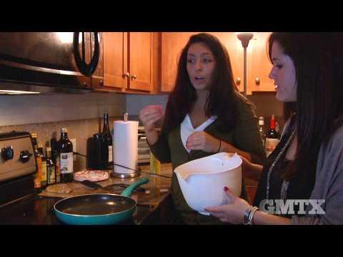 Passover Cooking Matzo Brei