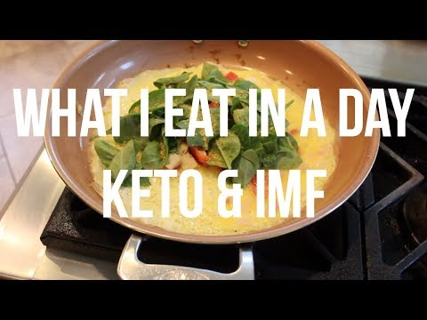 What I eat in a day: Keto and Intermittent Fasting