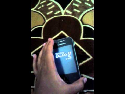 How to change fonts on samsung galaxy y