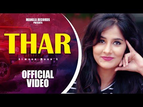 THAR | Armaan Maan | Latest Punjabi Song 2016 | Mangla Records