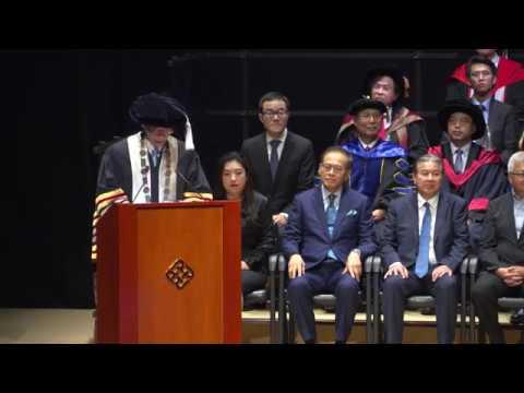 The Third Inauguration of Endowed Professorships