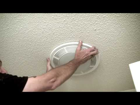 Changing Bulb in Exhaust Fan LakeView