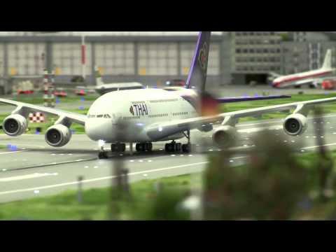 AMAZING MODELS: Worlds Biggest Miniature Airport | Knuffingen Flughafen