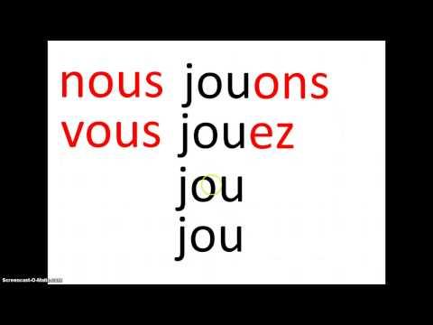 french 1.7 Present tense of regular verbs ending in -er
