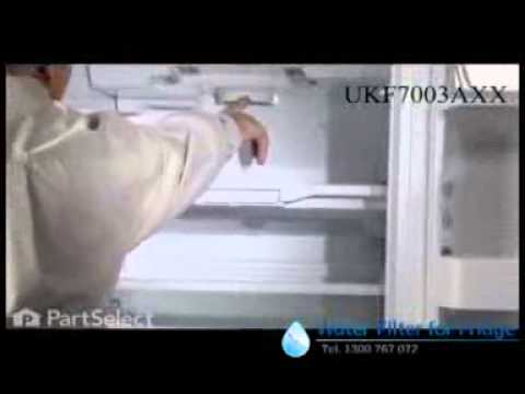 HOW TO REPLACE YOUR MAYTAG UKF7003AXX FRIDGE WATER FILTER