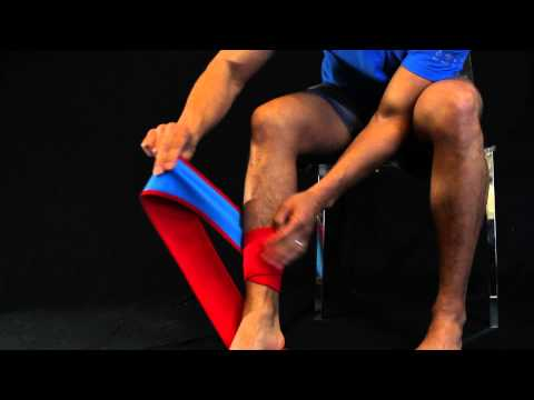 How-To Wrap Your Calf with Dr. Cool