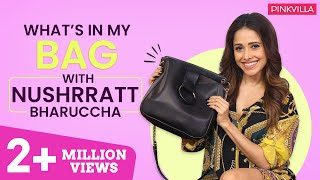 What's in my bag with Nushrat Bharucha  | Fashion | Bollywood | Pinkvilla
