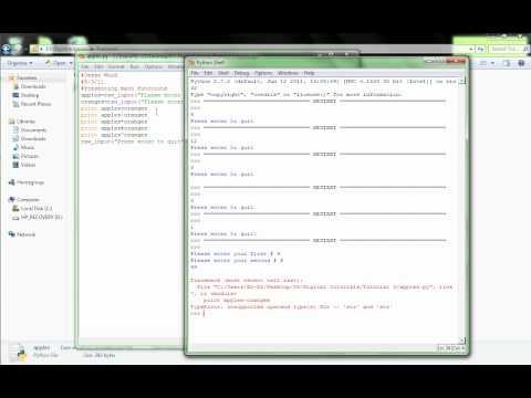 Python Tutorial 3