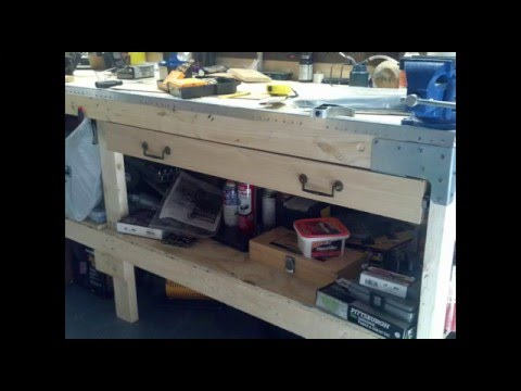 Workbench Upgrade Full Extending Drawer