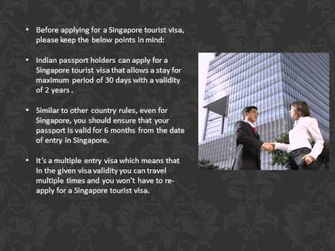 How to get Singapore tourist visa
