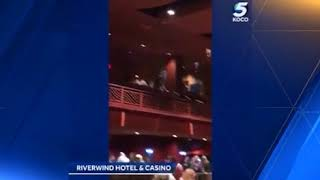 Storm damage reported at Riverwind Hotel & Casino in Norman
