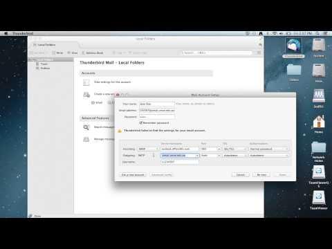 zMail - Add Office 365 account - Thunderbird