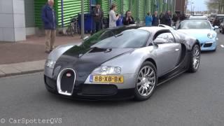 Fast and Furious 8 Premiére - 3x Bugatti Veyron, 900hp 335i burnout, 911R, Aventador Capristo etc!