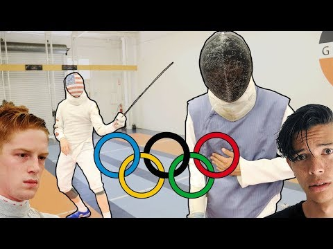 I TRIED STABBING AN OLYMPIC FENCER
