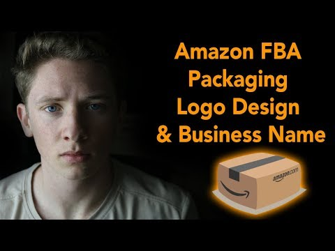 Amazon FBA Product Packaging, Business Name & Logo