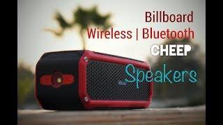 Billboard (BB493) Bluetooth Wireless Speakers