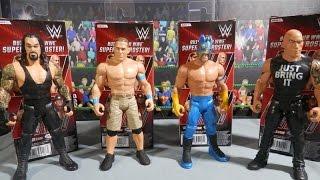 WWE Jakks Action Figures 2016 Series 1 Full Set Review