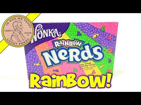 Wonka Rainbow Nerds - USA Candy Tasting Review