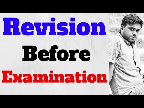 how to revision ,How to Concentrate on Studies in Examination time in Hindi