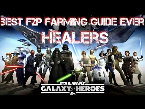 Best F2P Farming Guide: Healers  Star Wars Galaxy of Heroes