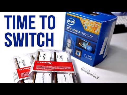 The AMD to Intel Switch! My PC Updates (Ep.4)
